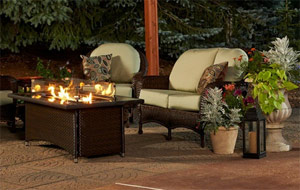 Outdoor Great Room Montego Fire Pit