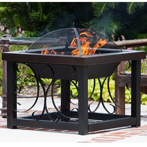 Fire Sense Cocktail Table Fire Pit