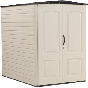 Rubbermaid Plastic Outdoor Storage Shed